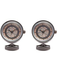 Tateossian - Vintage Gear Quartz Watch Cufflinks - Lyst
