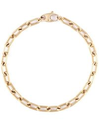 Loquet London - 14k Yellow Gold Chain Link Bracelet - Small - Lyst