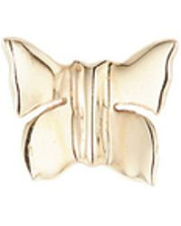 Loquet London - 'butterfly' 14k Yellow Gold Single Stud Earring – Nature - Lyst