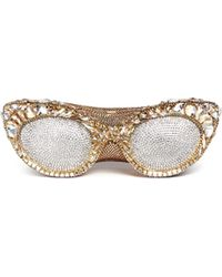 Judith Leiber - 'sugar Eyeglasses' Crystal Pavé Minaudière - Lyst