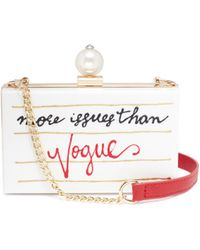 Cecilia Ma - 'vogue' Acrylic Box Clutch - Lyst