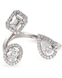Messika - 'my Twin' Diamond 18k White Gold Ring - Lyst