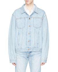 Simon Miller - 'chama' Washed Denim Jacket - Lyst