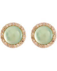 Roberto Coin - 'cocktail' Diamond Quartz 18k Rose Gold Earrings - Lyst