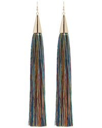 Eddie Borgo | Long Silk Tassel Earrings | Lyst