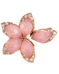 Stephen Webster - Crystal Haze Diamond 18k Rose Gold Small Ring - Lyst