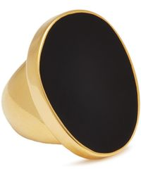 Kenneth Jay Lane - Enamel Oval Ring - Lyst