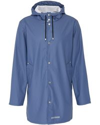 Stutterheim - 'stockholm Lw' Hooded Unisex Raincoat - Lyst