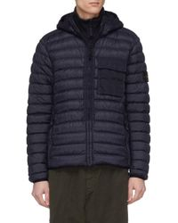 Stone Island - Chest Pocket Packable Down Puffer Jacket - Lyst