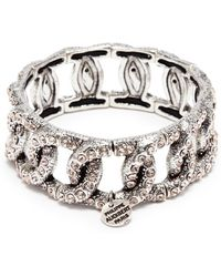 Philippe Audibert - 'princess' Swarovski Crystal Chain Effect Elastic Bracelet - Lyst