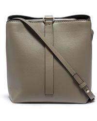 Proenza Schouler - 'frame' Leather Bucket Bag - Lyst