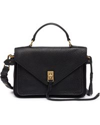 Rebecca Minkoff - 'darren' Small Leather Messenger Bag - Lyst
