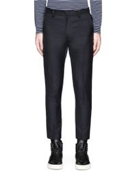 JohnUNDERCOVER - Puffer Back Wool Pants - Lyst