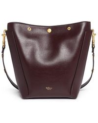 Mulberry - 'small Camden' Press Stud Leather Hobo - Lyst