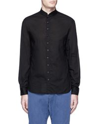 1.61 - 'n.c.' Mandarin Collar Shirt - Lyst