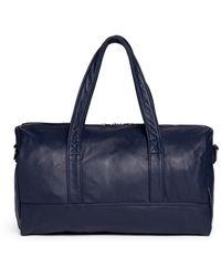 Meilleur Ami Paris - 'bel Ami' Leather Duffle Bag - Lyst