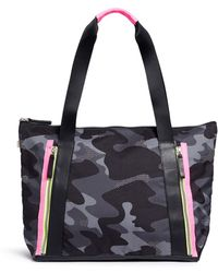 Monreal London - 'victory' Camouflage And Neon Tote Bag - Lyst
