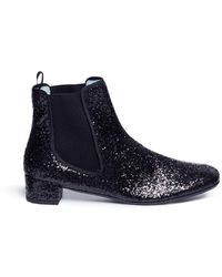 Frances Valentine - 'milly' Glitter Chelsea Boots - Lyst