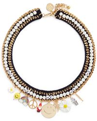Venessa Arizaga - 'glowing Garden' Necklace - Lyst