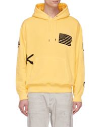 Children of the discordance - Mix Badge Embroidered Hoodie - Lyst