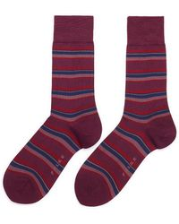 Falke - Variegated Stripe Socks - Lyst