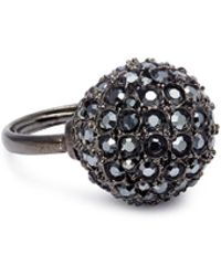Kenneth Jay Lane - Glass Crystal Sphere Ring - Lyst