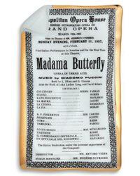 Fornasetti | Madama Butterfly Locandina Large Sheet Ashtray | Lyst