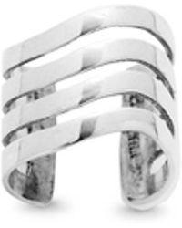 Lynn Ban - 'coil' Sterling Silver Single Ear Cuff - Lyst