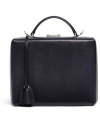 Mark Cross - 'grace Large Box' Saffiano Leather Trunk - Lyst