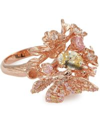 Anabela Chan - 'rose Orchard' Diamond Gemstone Ring - Lyst