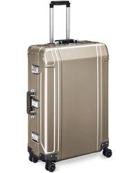 "ZERO HALLIBURTON - Geo Aluminium 2.0 28"" 4-wheel Spinner Suitcase - Lyst"