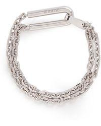 W. Britt - 'u Link Lock' Chain Bracelet - Lyst