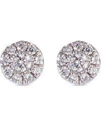 LC COLLECTION - 'versatile' Diamond 18k White Gold Stud Earrings - Lyst