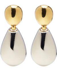 Kenneth Jay Lane - Pear Link Drop Earrings - Lyst