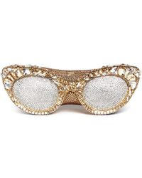 Judith Leiber | 'sugar Eyeglasses' Crystal Pavé Minaudière | Lyst