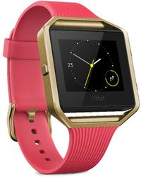 Fitbit - Blaze Special Edition Fitness Watch — Large - Lyst