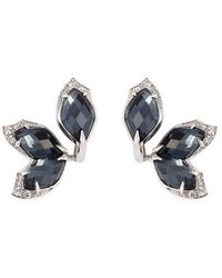 Stephen Webster - Crystal Haze Diamond 18k White Gold Earrings - Lyst
