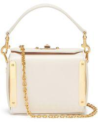 Alexander McQueen - 'nano Box Bag' In Leather - Lyst