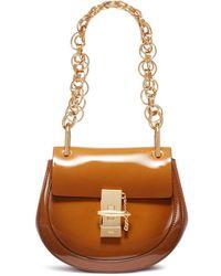Chloé - 'drew Bijou' Small Leather Shoulder Bag - Lyst
