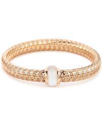Roberto Coin - 'primavera' Mother-of-pearl 18k Rose Gold Bracelet - Lyst