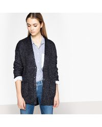 Pepe Jeans - Buttoned Chunky Knit Cardigan - Lyst