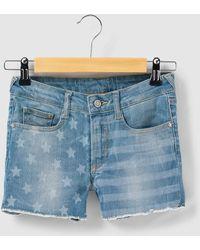 Le Temps Des Cerises - Cotton Denim Shorts, 8 - 16 Years - Lyst