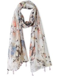 La Redoute - Scarf Printed With Little Motif - Lyst