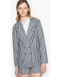 LA REDOUTE | Striped Straight Cut Blazer | Lyst