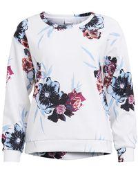 Vila - Printed Sweatshirt - Lyst