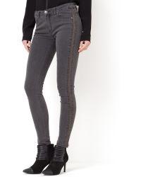 Suncoo - Stretch Denim 5-pocket Jeans - Lyst