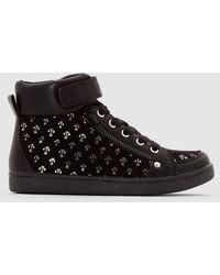 La Redoute - High Top Trainers With Shiny Motifs - Lyst