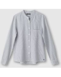 Marc O'polo - Blouse Featuring Small Checks - Lyst