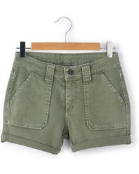 Le Temps Des Cerises - Shorts With Turn-ups - Lyst