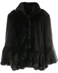 Rene' Derhy - Faux Fur Coat - Lyst